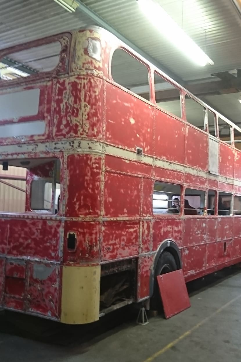 Safaribus im Workshop.