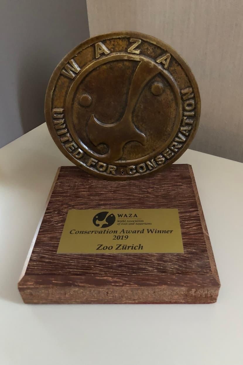 Waza Conservation Award 2019.